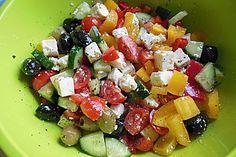 Griechischer Salat (Rezept mit Bild) von cj83   Chefkoch.de