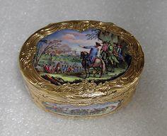 Swiss Snuffbox. 1770