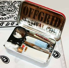 Also check out Altoid tin survival kits on DIY Instructables