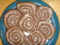 Sisters Sharing Recipes: Chocolate-Coconut Pinwheels