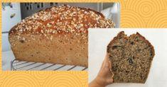 Máte radi chlebík plný semienok, ste zaneprázdnení, ale radi by ste si upiekli domáci chlieb z kvásku? Tak tento recept je práve pre vás. Nechajte sa inšpirovať, otestovala som pre vás 2 spôsoby, vyberte si ten svoj :) Banana Bread, Desserts, Food, Tailgate Desserts, Deserts, Essen, Postres, Meals, Dessert