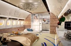 The idea of modern jet design is to provide everything the customer would expect to find in their home - to the same standard
