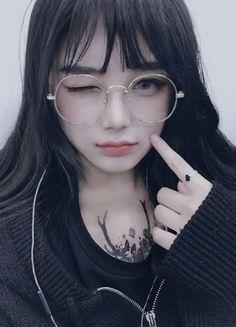 Embedded Pretty Korean Girls, Cute Korean Girl, Pretty Asian, Asian Girl, Mode Kawaii, Kawaii Girl, Kawaii Makeup, Cute Makeup, Japonese Girl