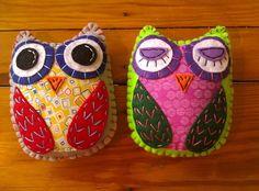 HOOT Eco Felt OWL Plush Toy #handmade #toys #toy #stuffed #stuffedtoys