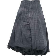 Women's Rundholz Check & Wire Skirt (10.245 RUB) found on Polyvore