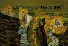 Black Dog: Dave McKean delves into the dreams of war artist Paul Nash – in pictures Comic Book Artists, Comic Books, Dave Mckean, Book Illustration, Illustrations, The Guardian, Dark Art, Cover Art, Creatures