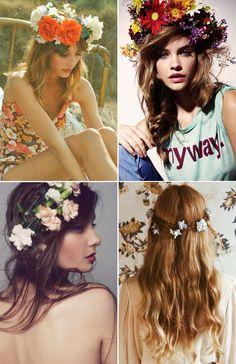 ahhh!!!! Proposito de verano: hacer muchas floral crowns
