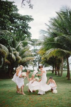 Twirl with your girls! | Brides.com