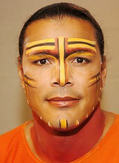 lion king broadway face paint - Google Search