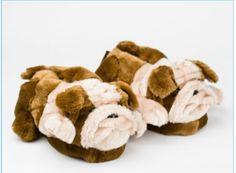 Bulldog slippers ❤❤❤