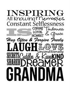 This would be so cute framed! Possibly for Mothers Day this year!
