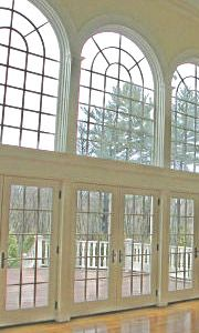 flexible molding for arched windows