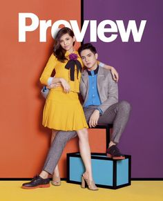 GALLERY: Alden and Maine get 'close' in fashion magazine spread Maine Mendoza Outfit, Magazine Spreads, Magazine Covers, Alden Richards, My Love From The Star, Fantastic Baby, Singer, Actresses, Actors