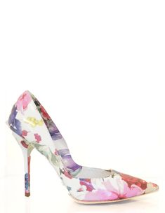 Dolce and Gabbana floral heels. Perfection.