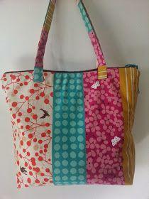 d251dc8d5 Las 46 mejores imágenes de Bolsos de tela | Fabrics, Sewing patterns ...