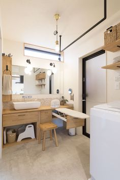 Laundry In Bathroom, Washroom, Paint Colors For Living Room, Modern Farmhouse Style, Kitchen Pantry, New Homes, House Design, Furniture, Wabi Sabi