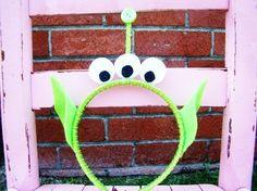 Toy Story inspired Alien headband by sweetthingskid on Etsy, via Etsy.