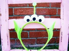 Toy Story inspired Alien headband by sweetthingskid on Etsy, via Etsy.