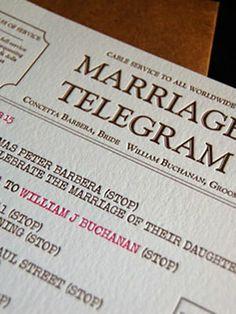 20 (New for 2011!) Invitation Ideas You'll Love - Wedding Invitations - Wedding Stationery