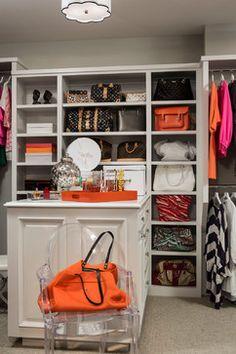 Transitional Closet by Minneapolis Interior Designers & Decorators Martha O'Hara Interiors