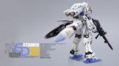 GUNDAM GUY: Gundam GP03 Dendrobium - Customized Build