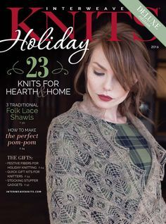 Interweave Knits Holiday Gifts 2016 - 轻描淡写 - 轻描淡写