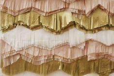 Fringe Backdrop A Beautiful Mess 550x367 Wedding Stationery Inspiration: Fringe