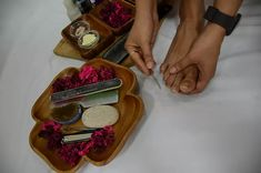 Pedicure At Home - Prep Your Nails Homemade Pedicure, Pedicure At Home, Manicure And Pedicure, Natural Facial, Natural Skin Care, How To Do Pedicure, Homemade Stain Removers, Feet Scrub, Beauty Tips