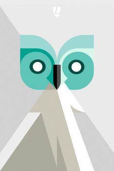 follow the colours Lumadessa owl Josh Brill cria ilustrações incríveis inspirado pela natureza