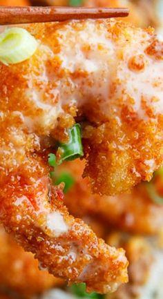 Honey Garlic Shrimp