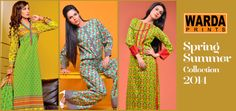 Warda Prints Spring Summer Collection 2014
