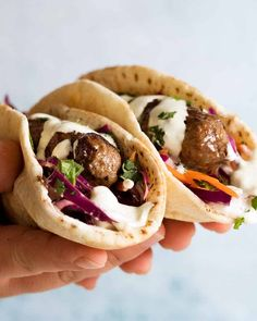 These Lamb Koftas are a long standing personal favourite Middle Eastern recipe! Made with lamb mince (ground lamb) and a hefty dose of spices, the smell when this is cooking is intoxicating! Lamb Mince Recipes, Meat Recipes, Cooking Recipes, Healthy Recipes, Healthy Food, Ground Lamb Recipes, Lamb Koftas, Lamb Burgers, Mint Salad