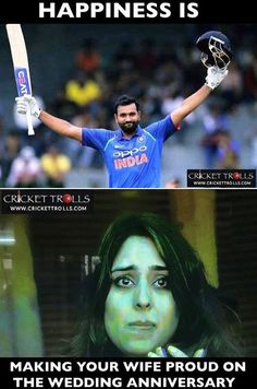 This guy is just fab! Marriage Anniversary, Anniversary Quotes, Latest Cricket News, Mumbai Indians, Sports Memes, Sport Quotes, Celebrity Couples, Fun Facts, Motivational Quotes