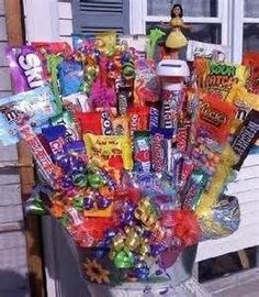 candy bouquet ideas | tons of candy bouquet ideas | Party