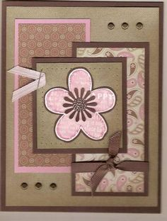 Shabby Flower by Beate - Cards and Paper Crafts at Splitcoaststampers