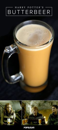 Harry Potter's Butterbeer Made With Actual Butter and Beer - one of many bitterer recipes i am pinning to this list. gotta try 'em all!!!