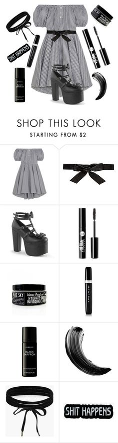 """""""Beat It"""" by violenceinsilence ❤ liked on Polyvore featuring Caroline Constas, Alice + Olivia, Demonia, Charlotte Russe, Marc Jacobs, Liberty and Boohoo"""