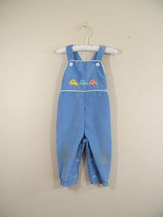 Vintage 1970s Baby Overalls / 9 Months / by ThriftyVintageKitten, $10.00