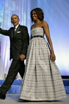 <p>At the Congressional Black Caucus Foundation Annual Phoenix Awards dinner, she cinches her fancy gown with a J.Crew belt. The perfect high-low mix.</p>