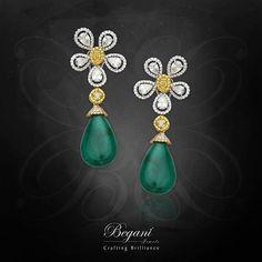 Real Diamond Earrings, Emerald Earrings, Diamond Jewelry, Nails 2018, Jewelry Branding, Luxury Jewelry, Fine Jewelry, Jewellery, Bling