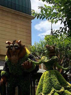 All Adrienne: Disney Flower and Garden Festival Part 1
