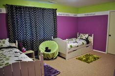 Purple And Green Rugs