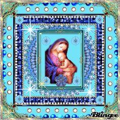 AVE MARIA MIT DEM JESUSKIND IM ARM GRUESSET UNS ALLE SEHR!