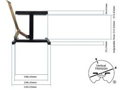 Motorcycle Stand and Lift - Homemade motorcycle stand and lift constructed in accordance with a set of plans.
