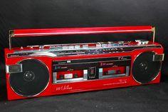 1980s Boombox, Takeshi's Castle, Nostalgia, Radios, Phone Screen Wallpaper, Record Players, Hifi Audio, Old Tv, Audio Equipment