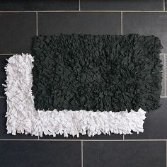 I Love The Recycled Jersey Bath Mat On Westelm