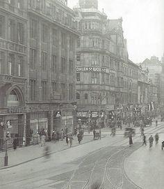Georgstraße Ende der 30er Jahre