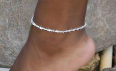 Excited to share this item from my shop: Swarovski Crystal Stretch Anklet/Wedding Jewelry/Bridal Jewelry/Beach Wedding Beach Jewelry, Cute Jewelry, Luxury Jewelry, Bling Jewelry, Turquoise Jewelry, Wedding Jewelry, Silver Jewelry, Jewelry Accessories, Swarovski Jewelry