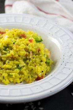 Crab Risotto, Risotto Dishes, Risotto Recipes, Rice Recipes, Seafood Recipes, Indian Food Recipes, Asian Recipes, Great Recipes, Ethnic Recipes