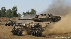 Main battle tank of the Israel - Merkava